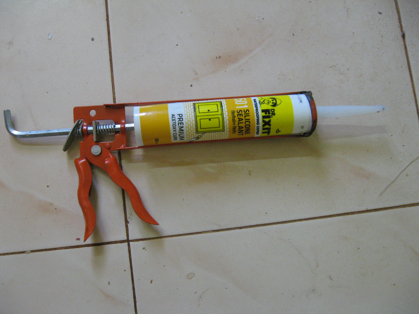 Picture of Sealing the Sides of Sliding Door Assembly