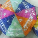 How to make a bean bag cushion chair from recycled umbrellas