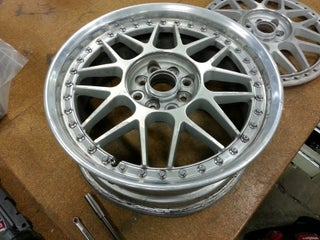 Refinishing Wheels - Polishing Bolts and Nuts (Part 1 of 3)