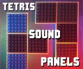 Tetris Sound Panels