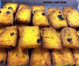 Raisin Cake Rusk