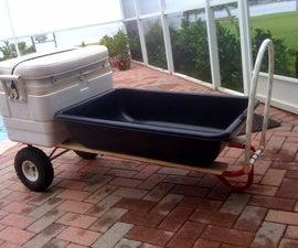 1,000 lbs Dock/Beach Cart for under $50