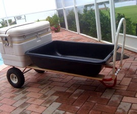 1,000 lbs Dock/Beach Cart for under $50