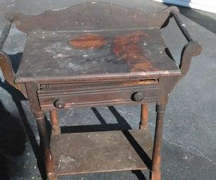 Saving Fire Damaged Furniture