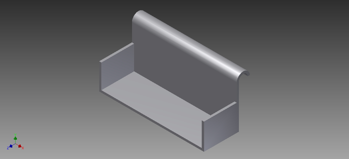 Picture of Cutting the Sheet Metal: Part One