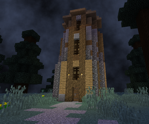 Wizard Enchanting Tower