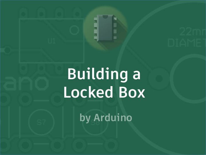 Picture of Building a Locked Box
