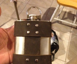 Flipped Out Flask Holder & Belt Strap