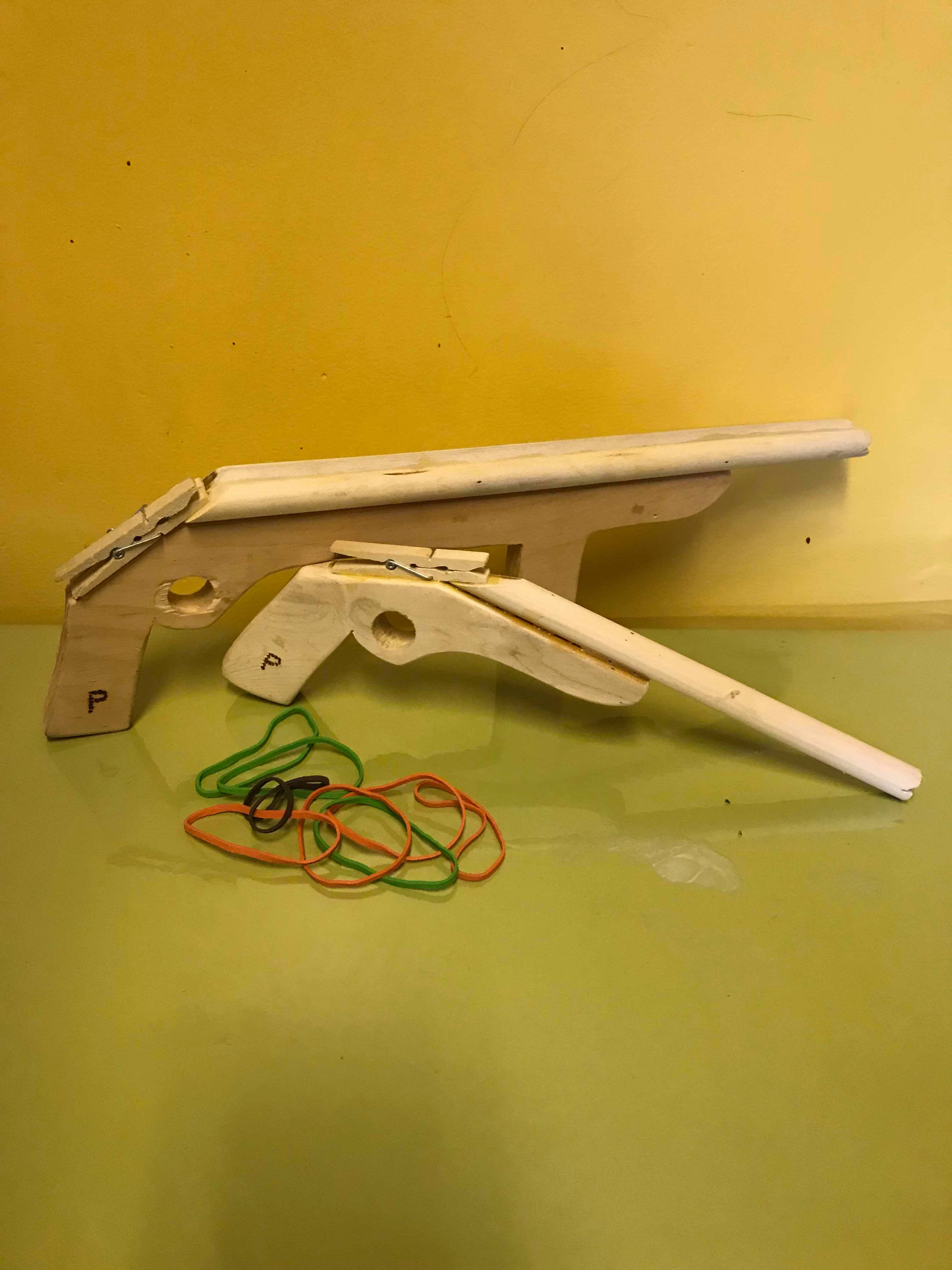Picture of Rubber Band Toy Gun