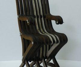 Flat-pack Chair Model (Using a Laser Cutter)
