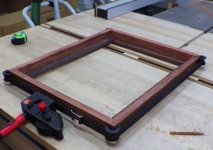 Gluing Up the Frame