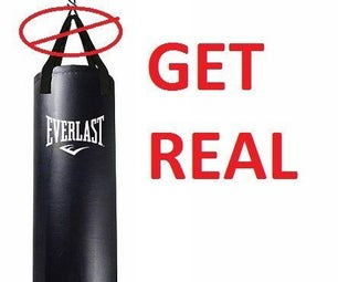 Design and Build a CHARGING OPPONENT. Make Your Heavy Bag Workout a Real World Workout