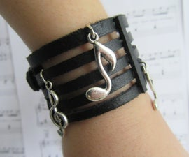 Music Stave Bracelet