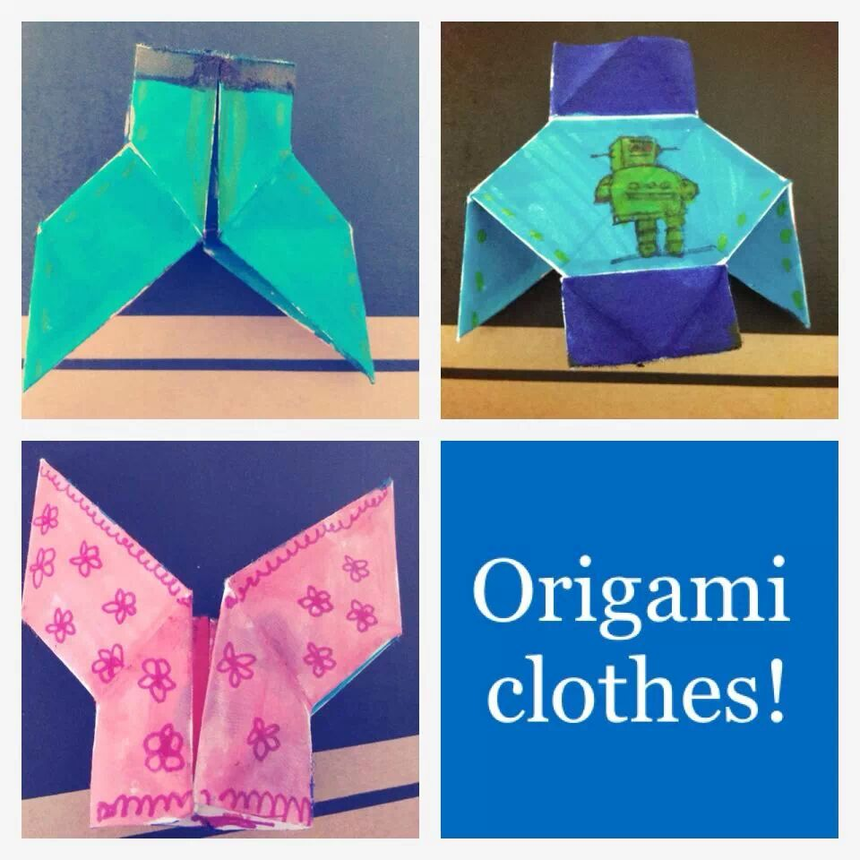 Picture of +3-in-one Origami Jacket, Pants and Corset