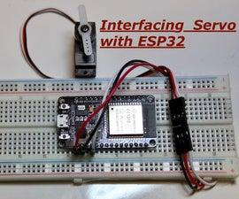 Interfacing Servo Motor With ESP32
