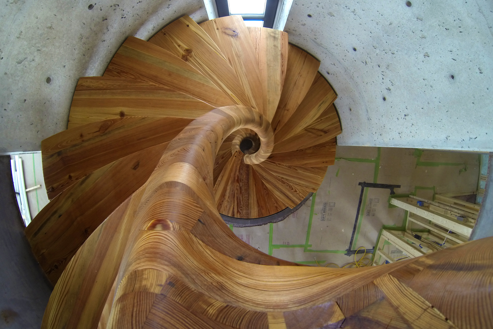 Picture of Spiral Staircase With a TON of Curves