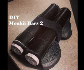 DIY Suspension Trainer - Take Your Gym Anywhere - Inspired by Monkii Bars 2