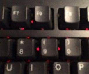 Membrane Keyboard LED Mod