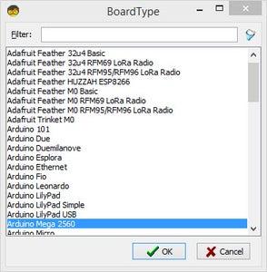 Start Visuino, and Select the Arduino MEGA Board Type