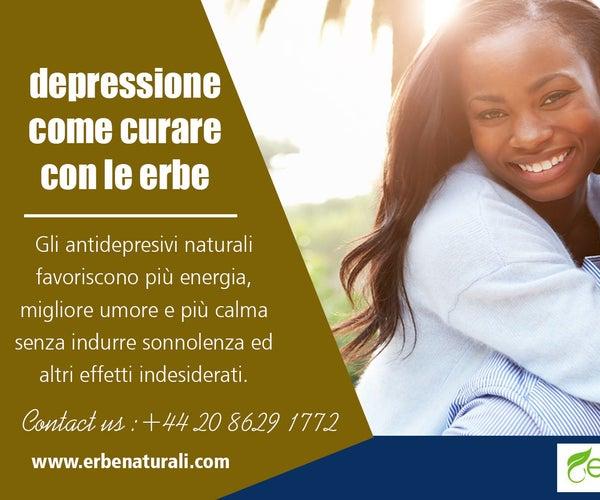 Depressione Come Curare Con Le Erbe