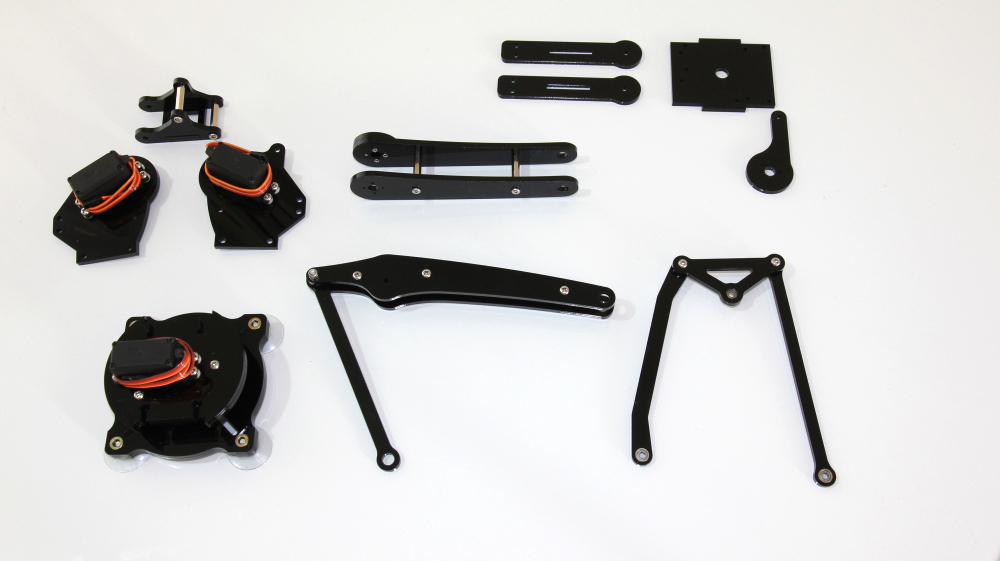 Picture of Fore Arm, Back Arm & Connecting Rod Assembly