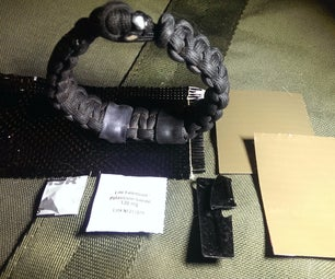 The Fallout Survivor: Nuclear and EMP Ready Paracord Bracelet- Anti-Radiation Tablet, Water Purification, Multi-Tool, Carbon Fiber Gas Mask