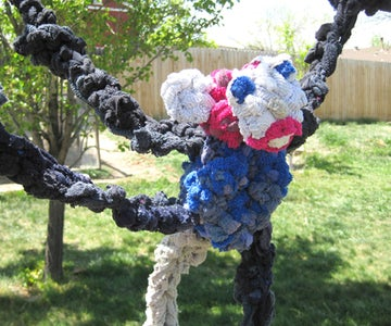 Crochet a Tough Dog Tug Toy From Old Socks