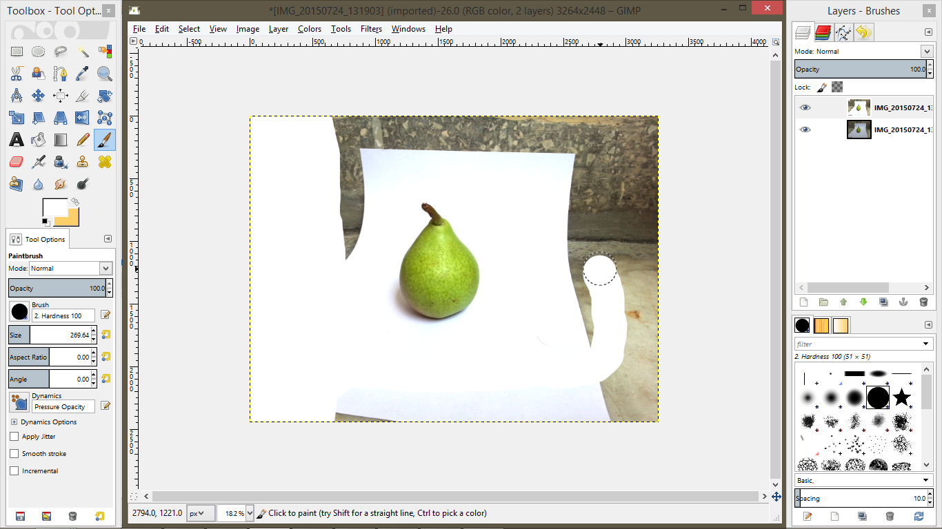 Picture of Editing: Clean Background