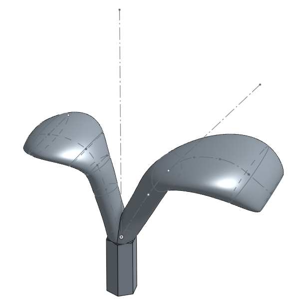 Picture of 3D CAD : Leaves and Switch