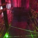 LASER Maze - Halloween Haunted House