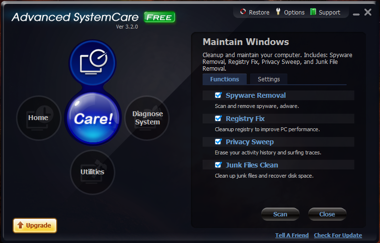 Picture of Advanced SystemCare Free