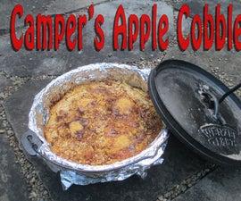 Camper's Outdoor Apple Cobbler
