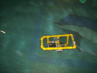 ROV Test in Pool