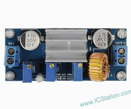 The Introduction of 5A Constant Current and Constant Voltage LED Driver Battery Charging Module