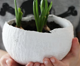 Plaster Egg Bowls