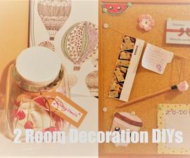 2 Room Decoration DIYs
