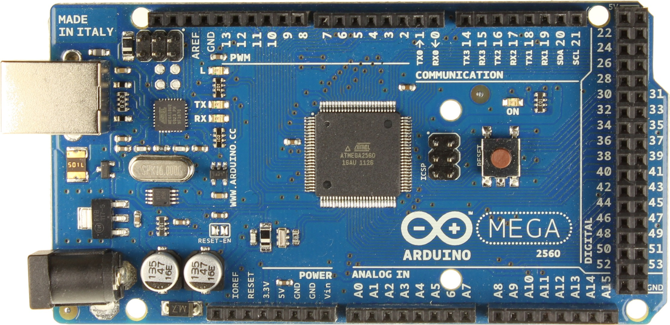 Picture of Arduino Mega 2560: the Everything Else Board