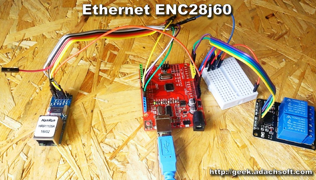 Picture of Ethernet Modules ENC28J60