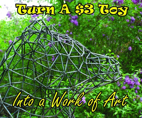 Turn a $3 Childs Toy Into a Work of Art