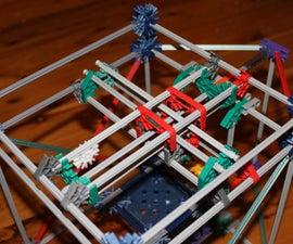 K'nexRap 3D printer prototype