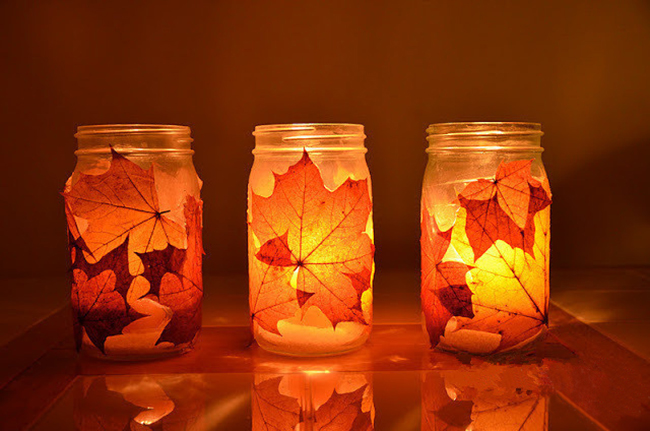 Picture of Autumn Candle Holder