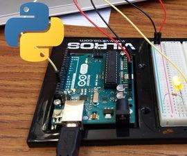 Pyduino, Interfacing Arduino with Python through serial communication