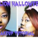 Lion Halloween Makeup | GRWM