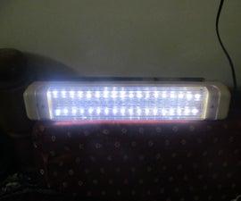 Old CFL Light to LED Light