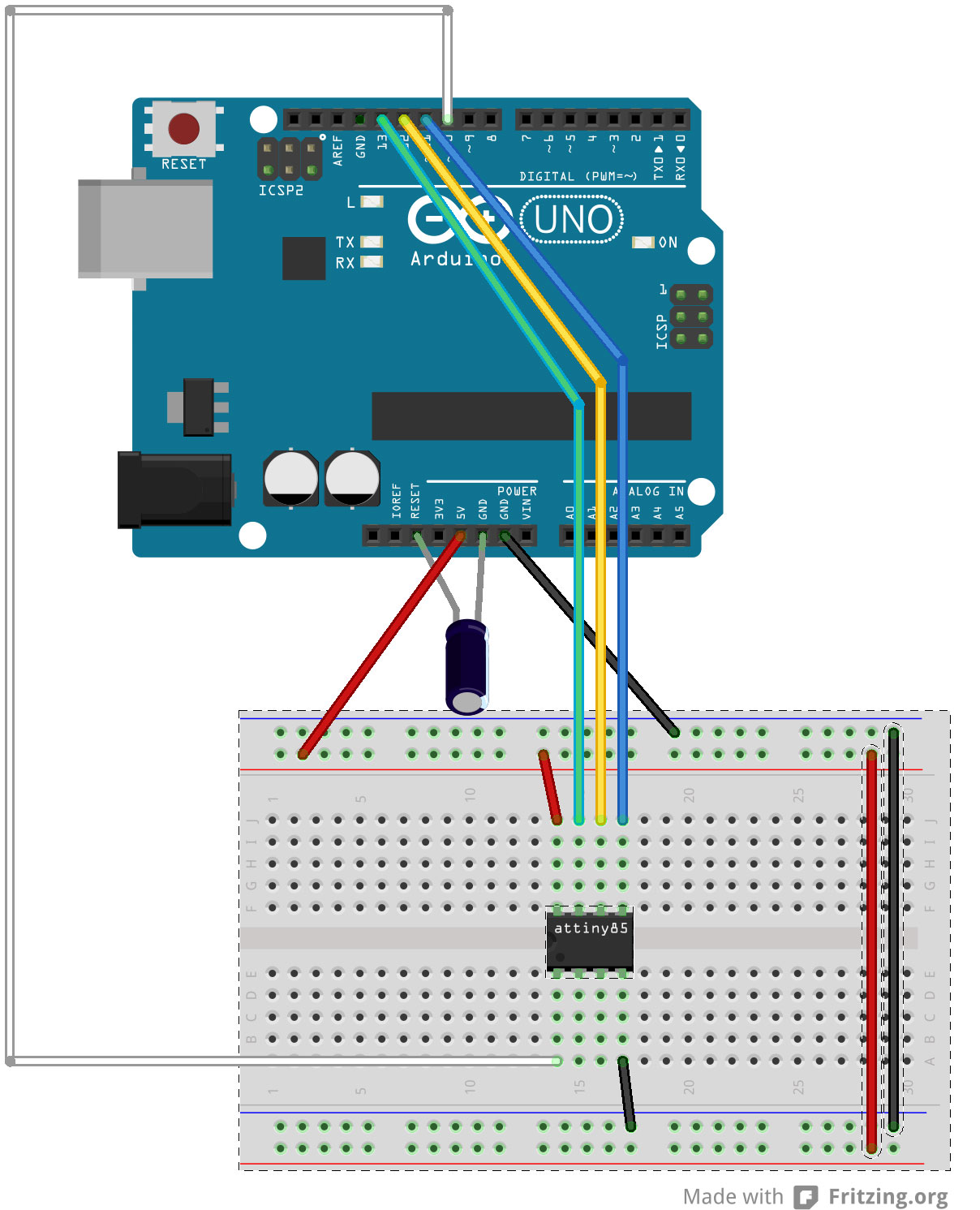 Picture of Moving to AtTiny85
