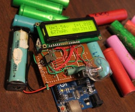Measure Li-ion cell capacity with an arduino
