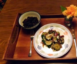 Sauteed Zucchini, Poblano Peppers & Red Onions