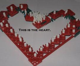 K'nex Valentine's Day Heart