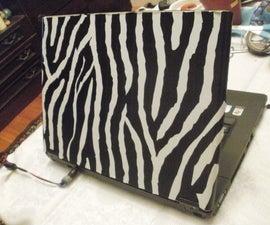 Duct tape laptop skin
