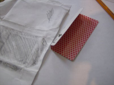 Fold Cards for the Sides, Top and Back.
